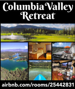 Columbia Valley Retreat! Airbnb.com/rooms/25442831