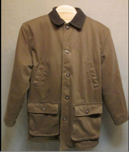 Land's End Brown Field Jacket / coat