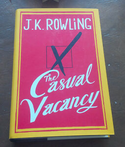 The Casual Vacancy, J.K. Rowling, 2012 Kitchener / Waterloo Kitchener Area image 1
