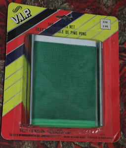 Filet pour Table de Ping Pong / Net *Vintage Unopened Package*