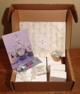 Martha By Mail Snow Globe Kit Mini Set Six Globes