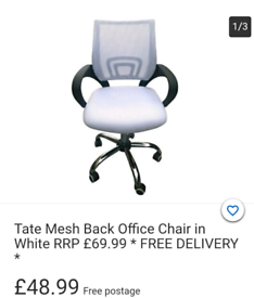 New Second Hand Office Chairs Seating For Sale In Birmingham West Midlands Gumtree