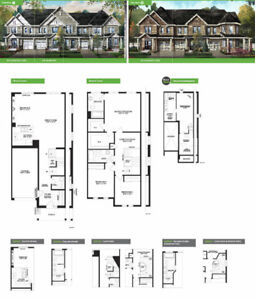 Brand new 1989 sqft townhouse w/finished bsmt,Kanata south,Sept4