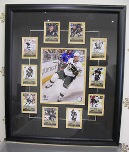 """Sidney Crosby, Framed 27x23"""" Photo and Cards Pittsburgh Penguins"""