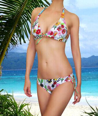 Victorias Secret Salinas of Brazil Jardin Top & Bottom Bikini Swimsuit Set New
