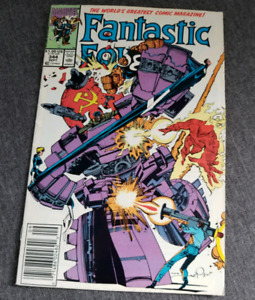 Fantastic Four Comic Volume 1 Issue #344