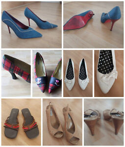 Chaussures mode et tendance. Fashion and trendy shoes  Size 8