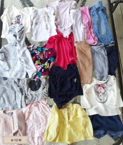 6 to 12 Month Baby Clothing!