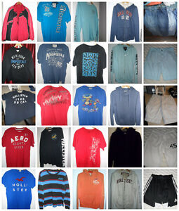 Teen Boys or Young Mens Clothing - Shorts, T Shirts, Jeans
