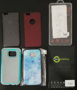 Cell Phone Cases and screen protectors