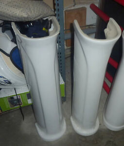 2 sink pedastals ($ 10 each), excellent condition