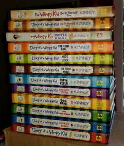 Diary Of a Wimpy Kid Book Collection!!!