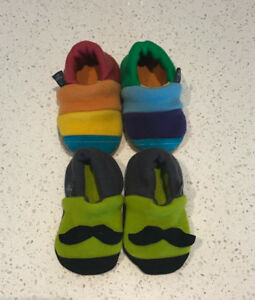 bumby wool 3-6 month slippers