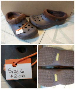 Boys footwear Size 4 and size 6