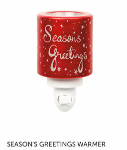 Christmas Scentsy Warmers - New in Box - Not a Scentsy Rep