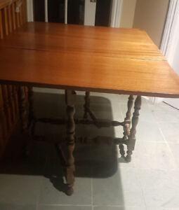 Antique Gate Leg Folding Table