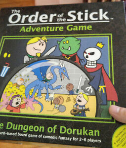 Board game - The Order of the Stick (adventure game)