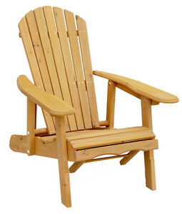 ADIRONDACK CHAIR, PULL-OUT OTTOMAN, CEDAR, PATIO, BACKYARD