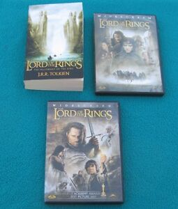 Lord of the Rings Book & 2 DVDs