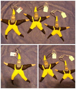 10 Differently Painted Starfish (Christmas Ornaments)