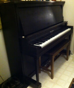 Piano-Sherlock Manning upright FREE Delivery
