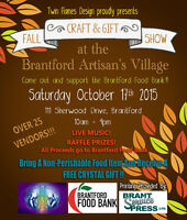 FALL CRAFT & GIFT SHOW AT THE BRANTFORD ARTISAN'S VILLAGE