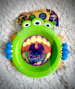 Monsters Themed NEW in package Baby Plate