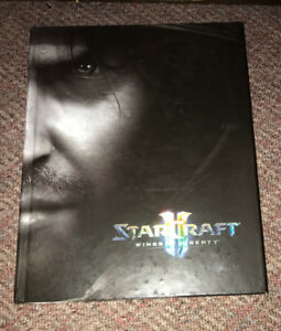 Starcraft II Wings of Liberty Limited Edition Strategy Guide HC
