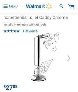 Toilet caddy- missing a piece