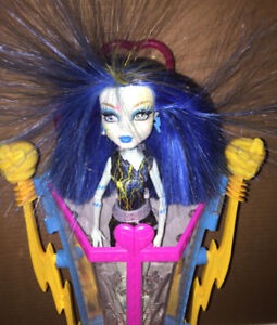 Monster High Freaky Fusion Frankie Playset