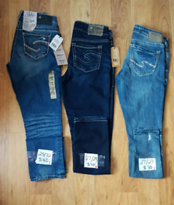 Silver And Guess Jeanss