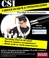 Young and career searching? Try CSI at EEC!