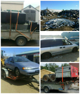 Top price for scrap vehicle's