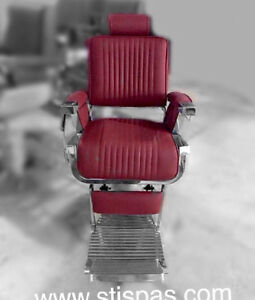 Styling chairs, barber chairs, shampoo & Hair salon furniture.