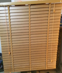 """2"""" Faux wood blinds in good shape"""