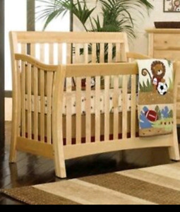 4in1 Lifetime Crib By Baby Cache with conversion kit