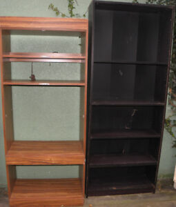 2 Bookcases Good Condition $25 For Both
