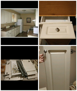 Good Shape Cabinet doors and Drawers.