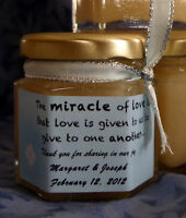 Honey/Tea Wedding Favors Locally Produced Unpasteurized Favours2