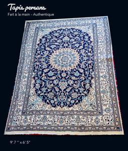 Tapis persan fait à la main - Authentique