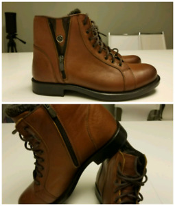 Brand new Authentic leather men boots