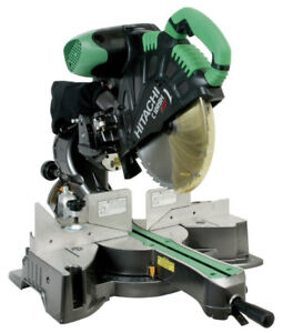 Hitachi C12RSH 15 Amp 12 -Inch Sliding Compound Miter Saw with L
