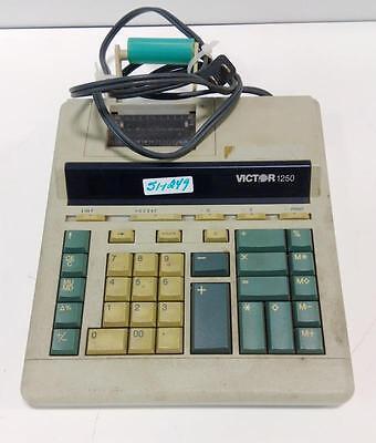 VICTOR 1250 ELECTRIC CALCULATOR