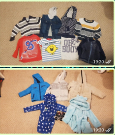 Clothing, Shoes & Accessories Girls' Clothing (newborn-5t) Mixed Bundle Of Clothes 6-9 Months Used X 5
