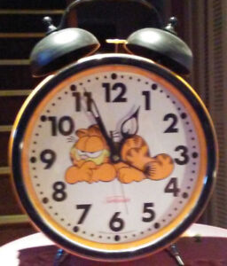 Clock by sunbeam with large dial - $15