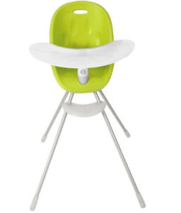 Phil & Ted Poppy convertible highchair lime green