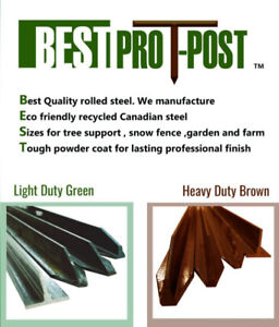 BEST PRO TPOST snow, safety, tree and agriculture garden fence