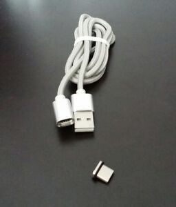 Type C Micro USB Charging Cable with Magnetic Connector - NEW