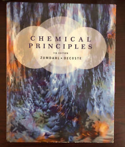 Chemical Principles Textbook and Solutions Manual (7th ed)
