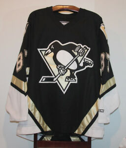 CCM SIDNEY CROSBY PITTSBURGH PENGUINS ROOKIE HOCKEY JERSEY XL